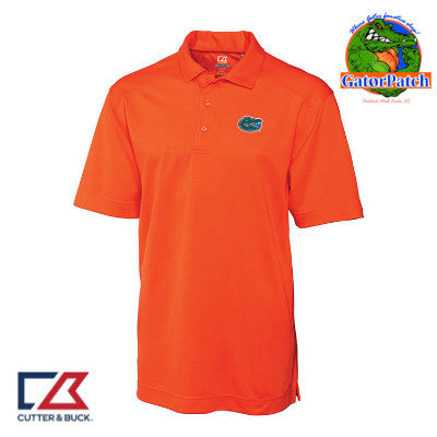 """NEW"" Cutter & Buck Orange DryTec Polo"