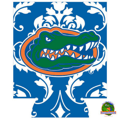 Gators Logo Can Hugger - Damask