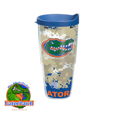 Gators Digital Camo 24 oz Tervis