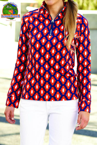 Poppy Quarter Zip Pullover