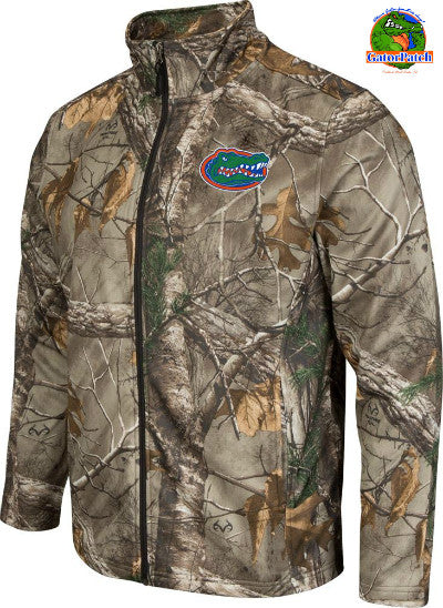 Gators Realtree Camo Full-zip, Fleece Lined Jacket