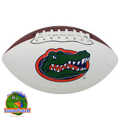 Gators Logo Official Size Football