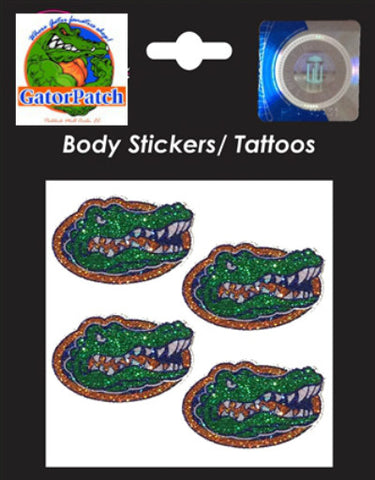 Gators Logo Body Stickers