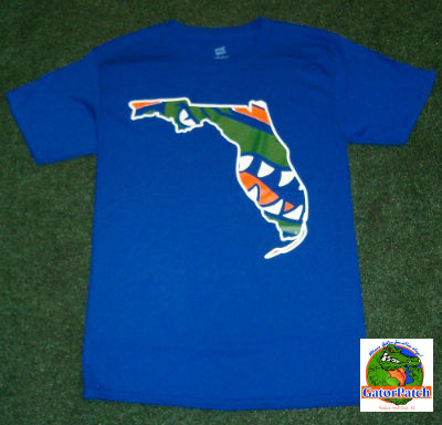 Gators Youth State Tee