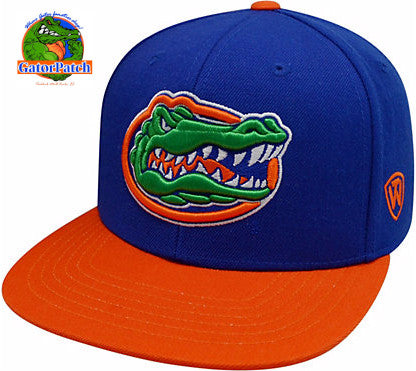 Flat Bill Two-Tone Gators Cap