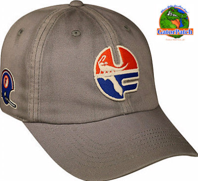 Gators Vintage Crew Washed Cotton Cap