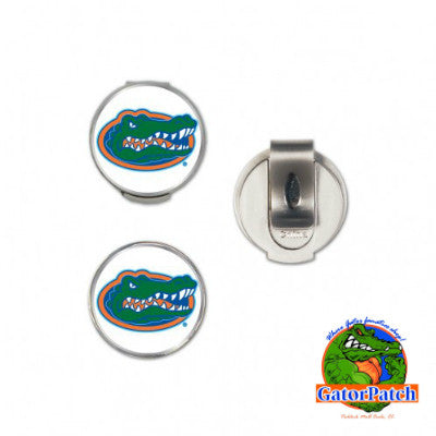 Golfer's Hat Clip w/2 Ball Markers