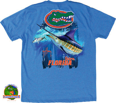 """JUST IN"" - Guy Harvey UF Triple Threat Tee"