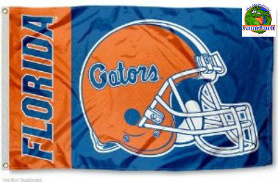 Florida Gators Helmet 3x5 Flag