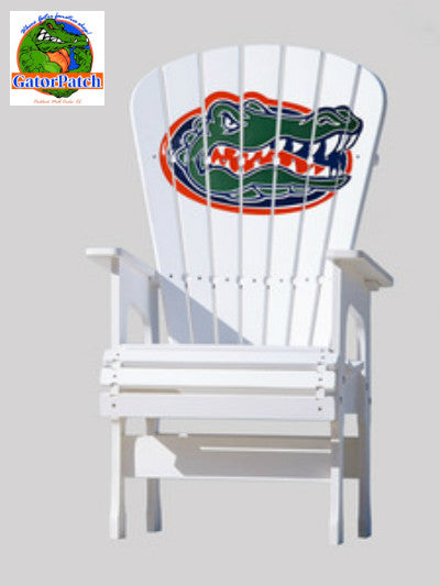 Gators Logo High-Back Adirondack Chair