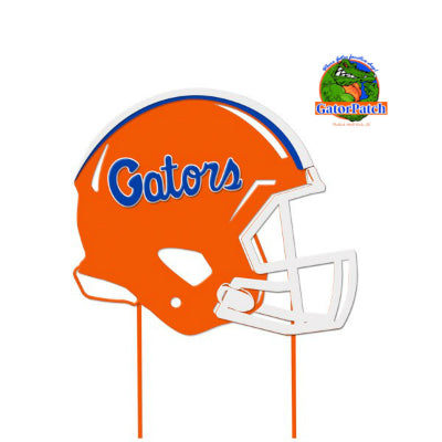 Iron Gators Helmet Yard Sign