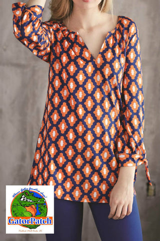 MudPie Kingsley Game Day Tunic