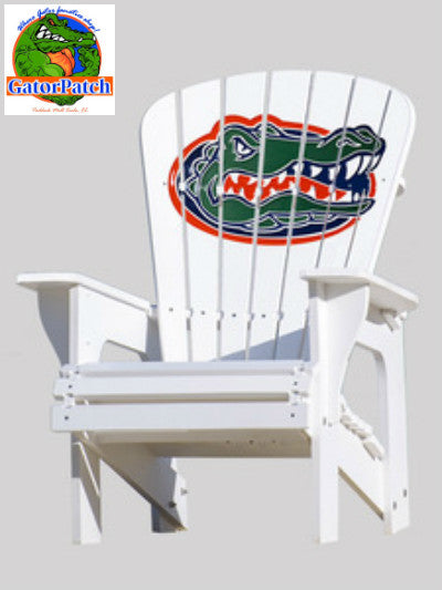 Gators Logo Traditional Adirondack Chair