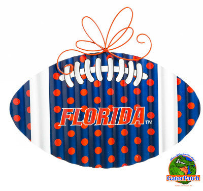 Corrugated Metal UF Football