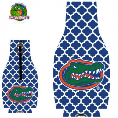 Gators Bottle Hugger - Quatrefoil