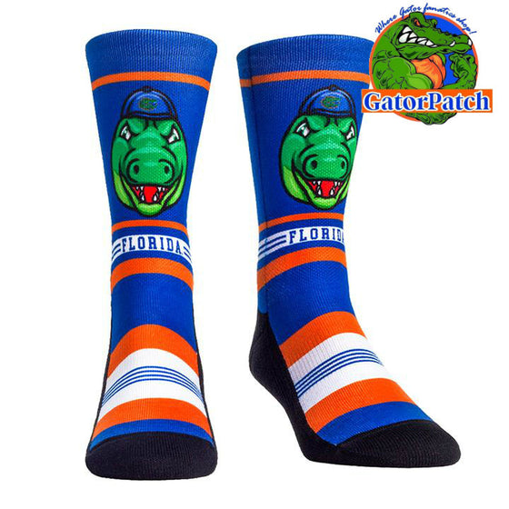 Game Face Mascot Crew Sock