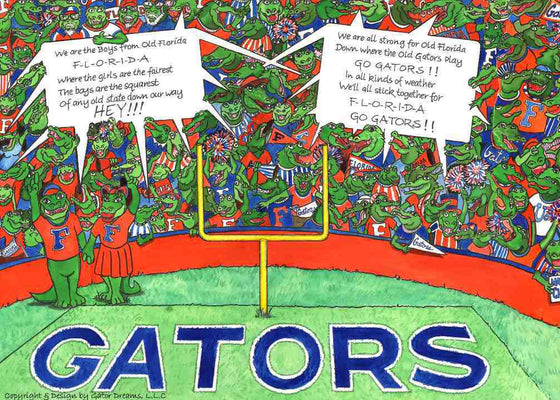 So Many Gators Puzzle