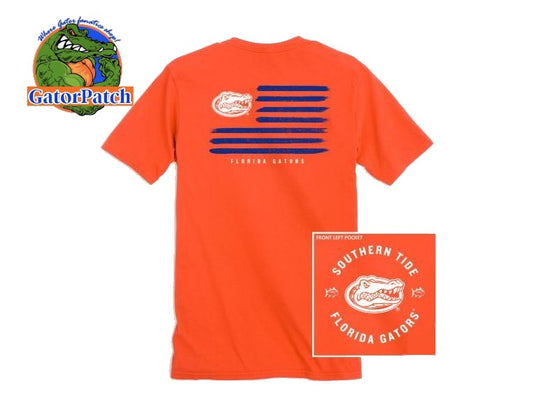 Southern Tide End Zone Tee
