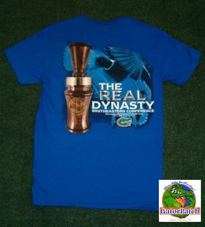 "SEC ""The Real Dynasty"" Gators Tee - ON SALE - While Supplies Last"