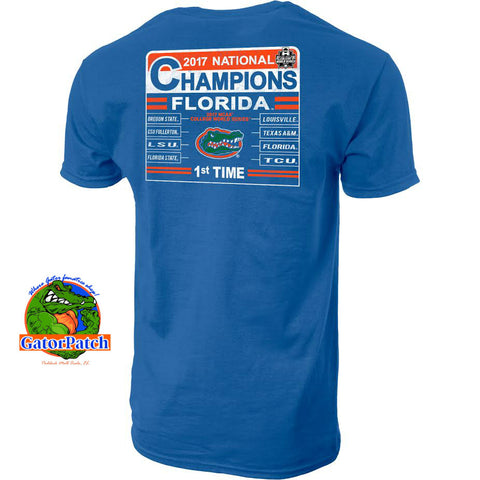 Gators National Champions Tumbler Tee