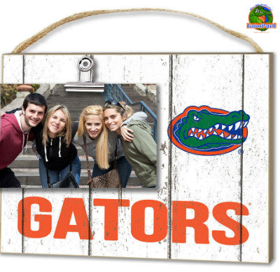 Gators Weathered Logo Clip-It Frame