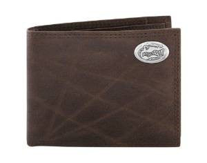 Wrinkle Leather Bi-fold Wallet