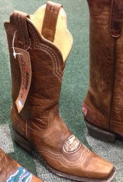 UF Brown Tone Ladies Boots