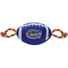 FLORIDA GATORS NYLON FOOTBALL DOG TOY