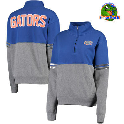 Ladies Quarter-Zip Florida Gators Pullover