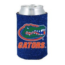 Florida Gators Team Logo Glitter Can Cooler