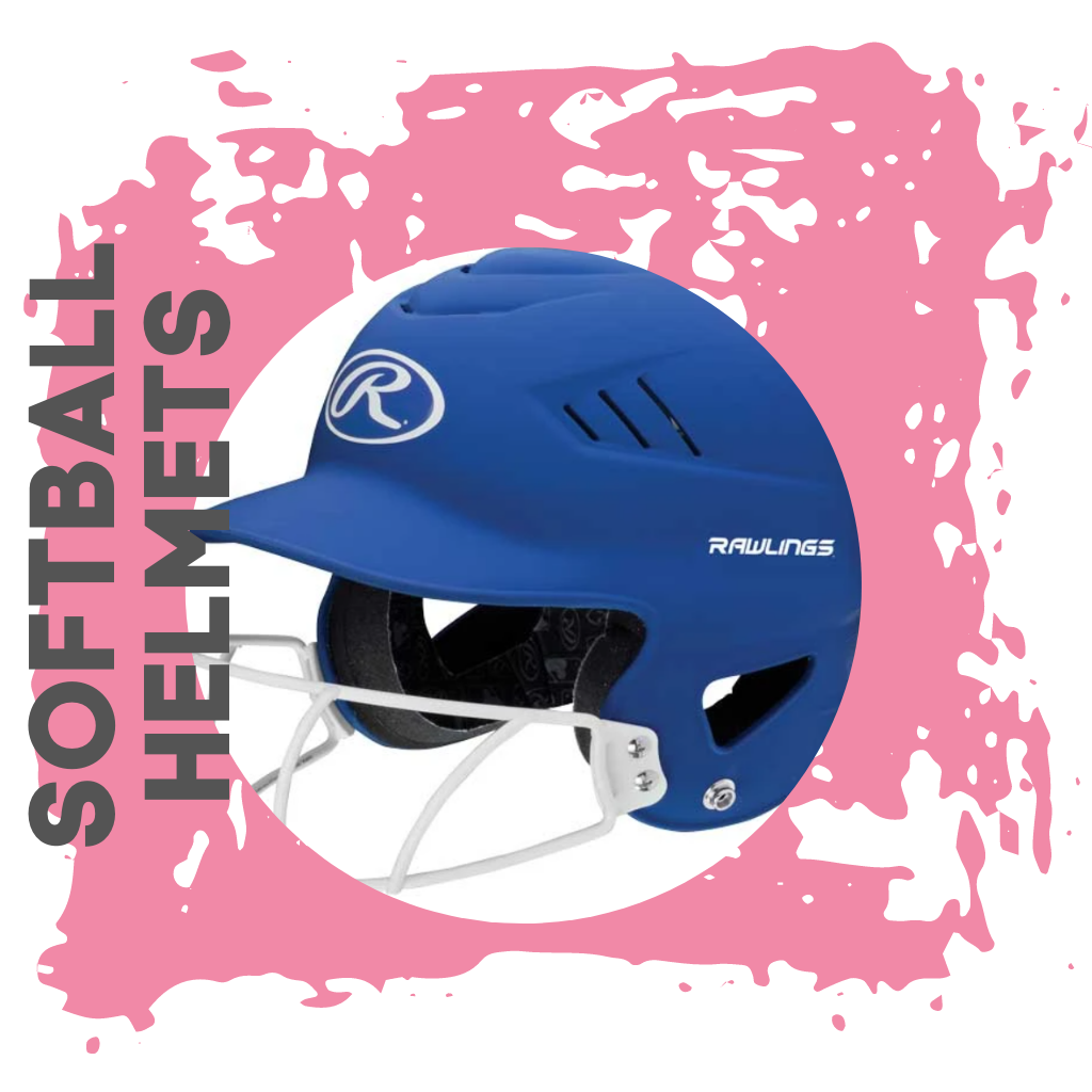 Softball Helmets + Guards