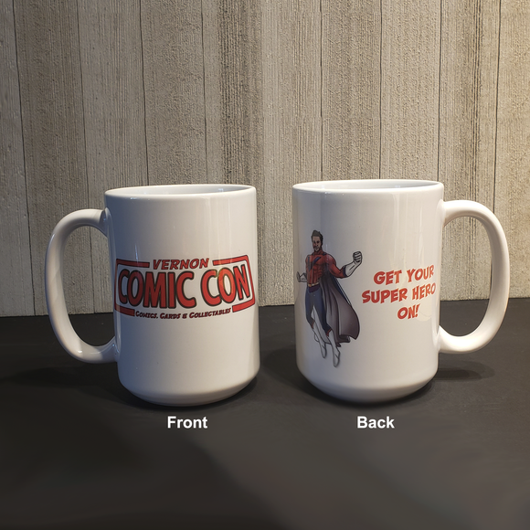 Vernon Comic Con 15oz Coffee Mug