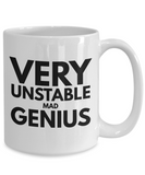 Very Unstable Mad Genius 11oz / 15oz Coffee Mug