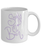 Spooky Bean Ghost 11oz  / 15oz Coffee Mug