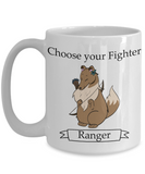 Dungeons and Dogs ranger mug