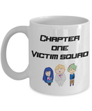 Danganronpa Chapter One Victims mug