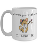 Dungeons and Dogs Druid mug