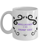 Intelligence Dump Stat Dungeons and Dragons 11oz  / 15oz Coffee Mug
