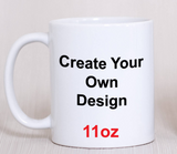 Custom Personalized 11oz /15oz Coffee Mug