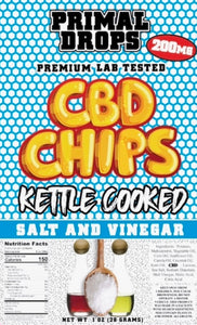 200 mg CBD or D8 CHIPS