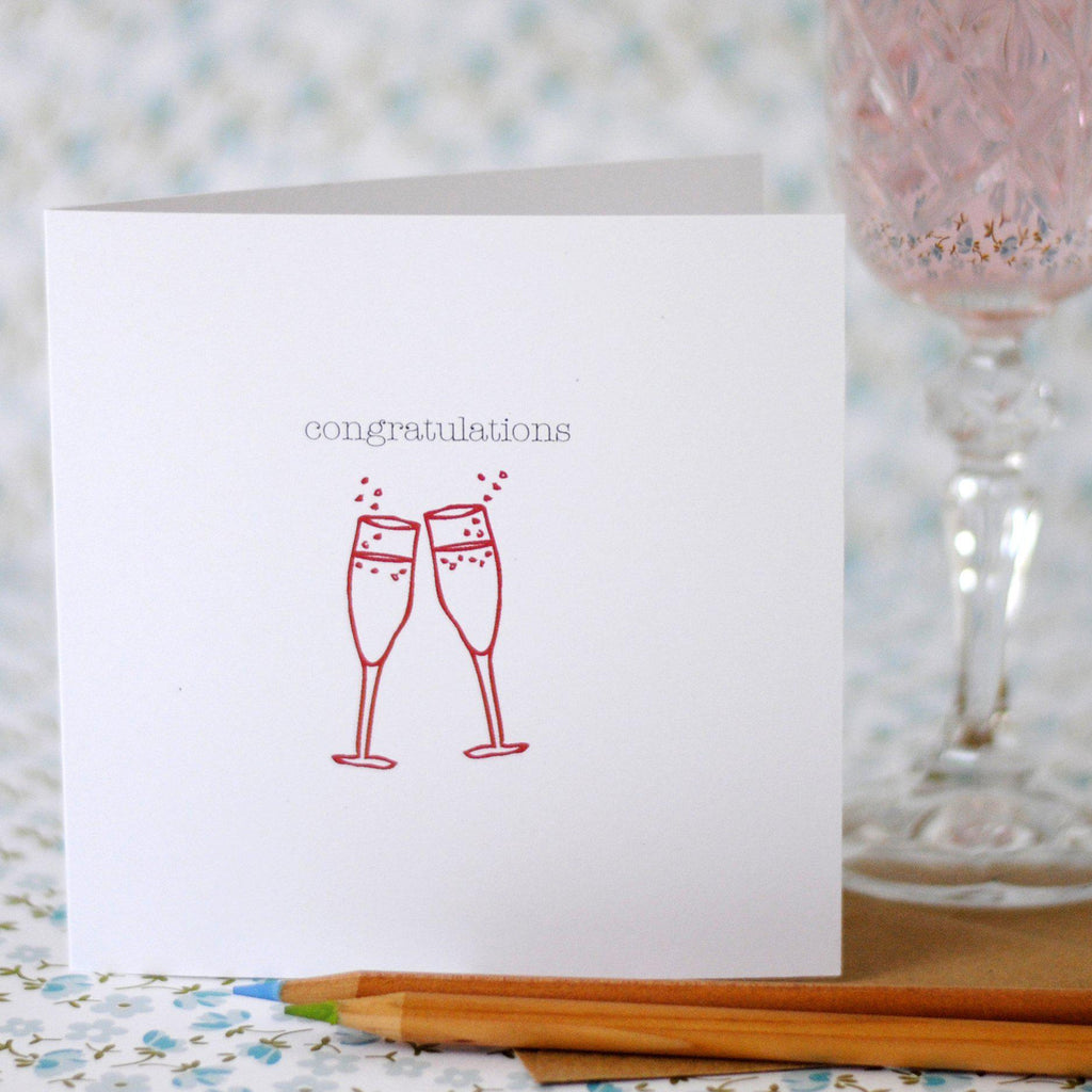 Congratulations Card (option to personalise) - the green gables store