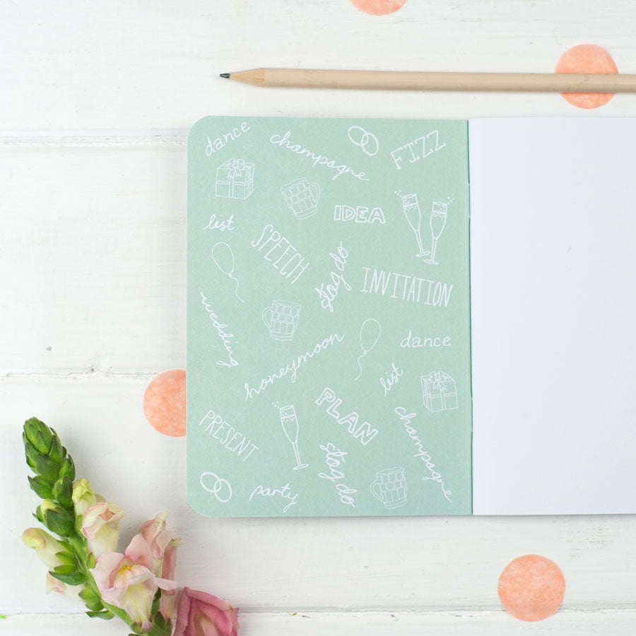 Father of the Bride Notebook - the green gables store
