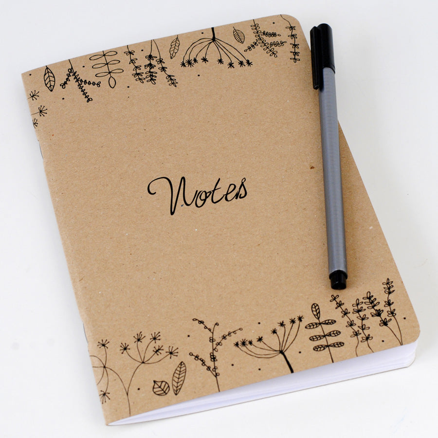 A5 Fauna Notebook - the green gables store
