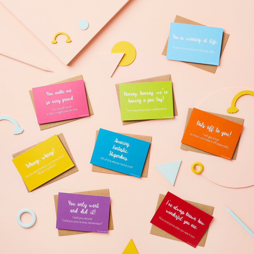 Cards of Positivity Set - the green gables store