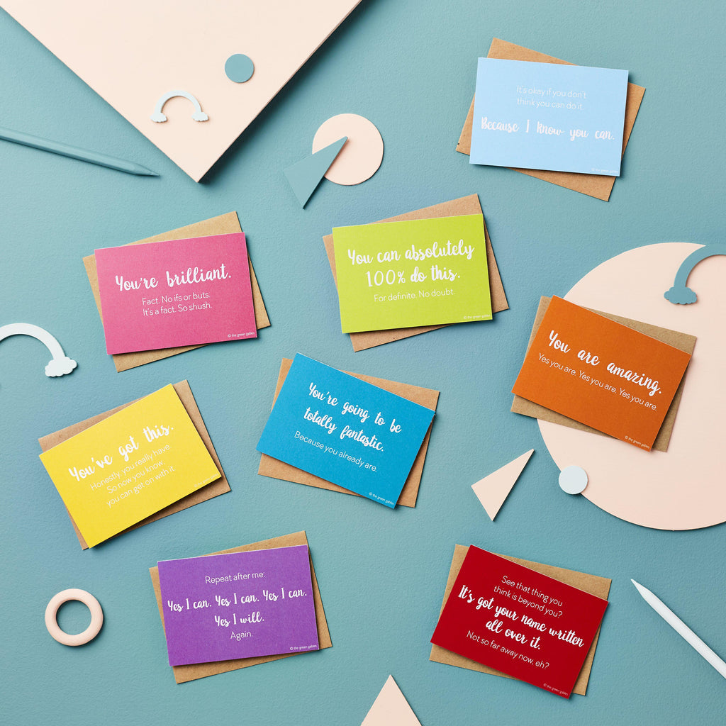 Cards of Encouragement Set - the green gables store