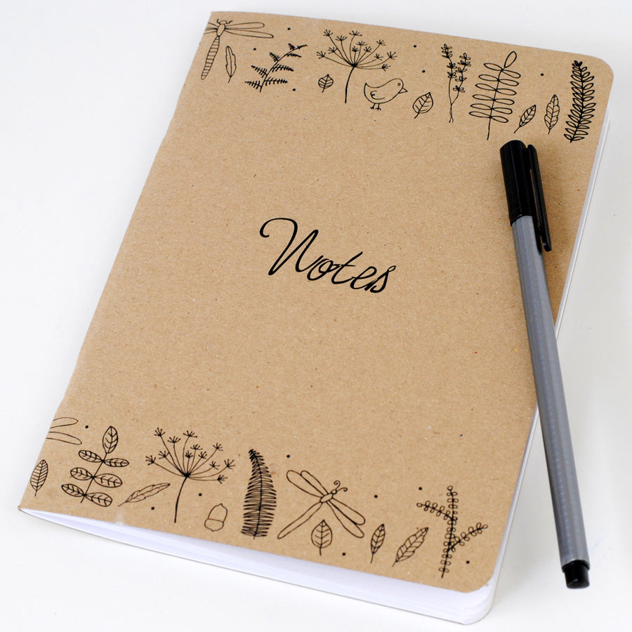 A5 Nature Notebook - the green gables store