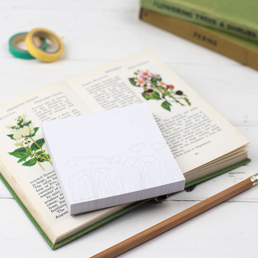 Botanical Memo Pads - the green gables store
