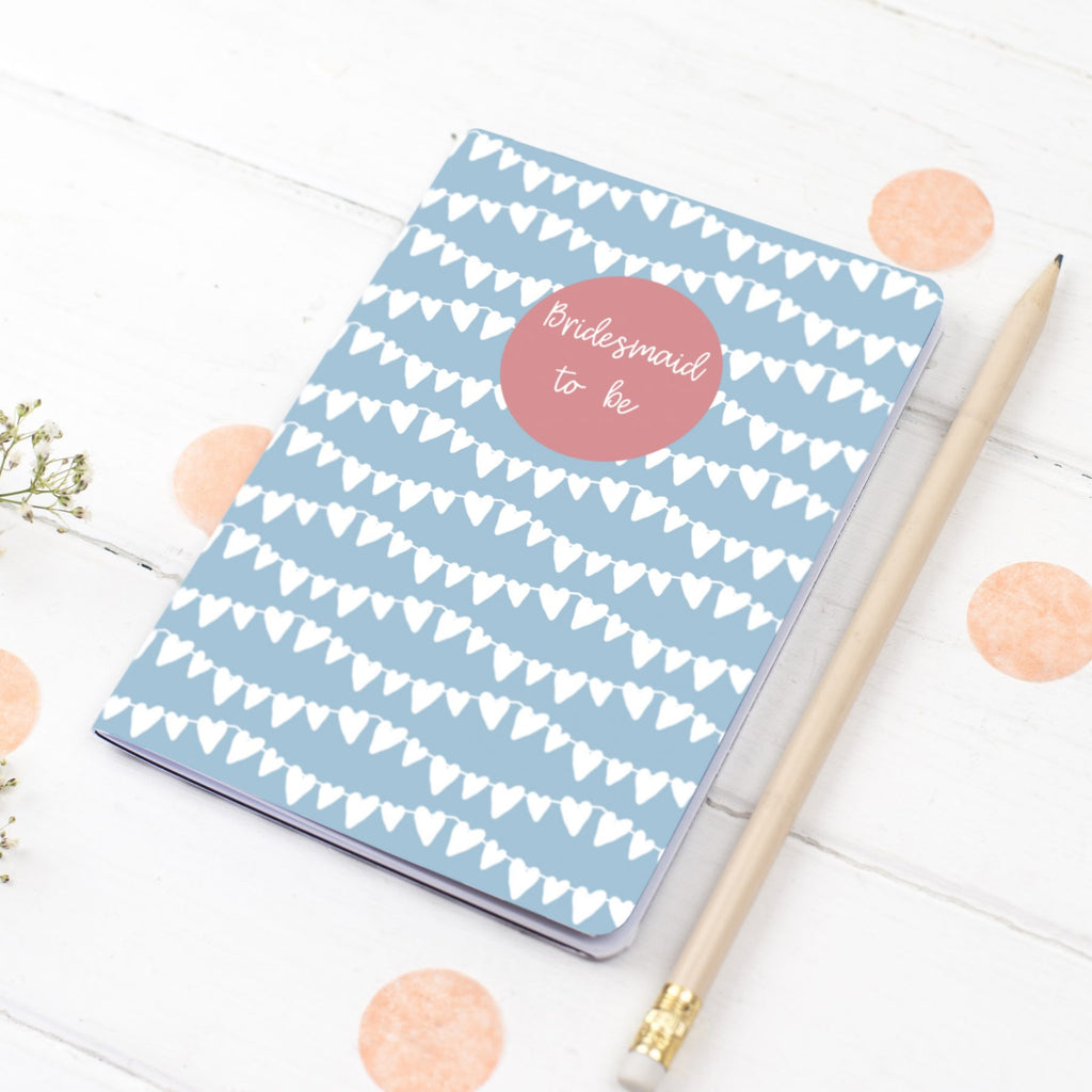 Bridesmaid Notebook Gift - the green gables store