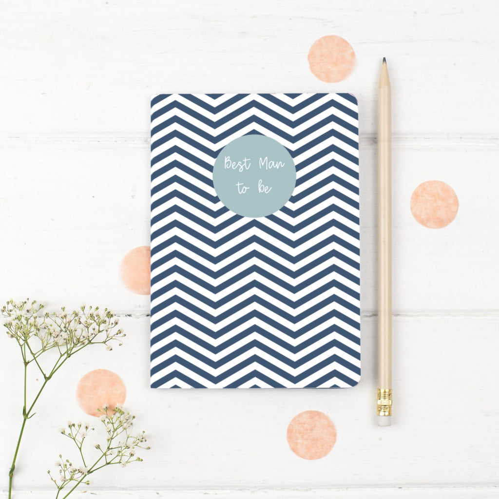 Best Man Notebook Gift - the green gables store