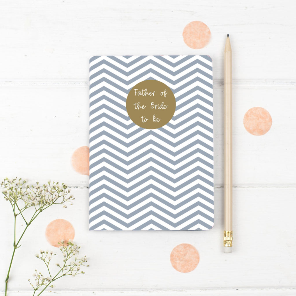 Father of the Bride Notebook Gift - the green gables store